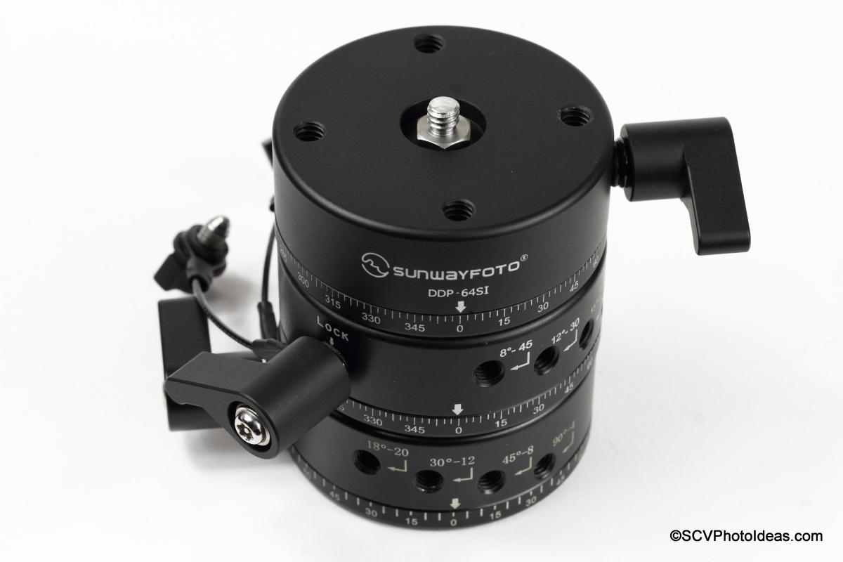 Sunwayfoto DDP-64SI PIR on top of olders comparison