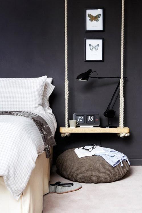 Weekend Project | Bedside Swing Side Table
