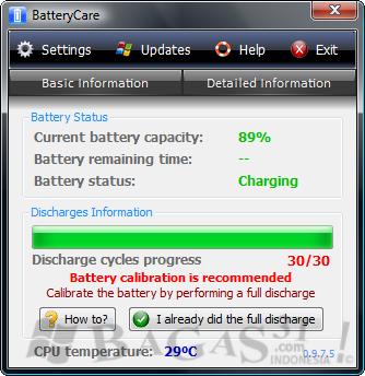 BatteryCare - Penghemat Battery Laptop 3