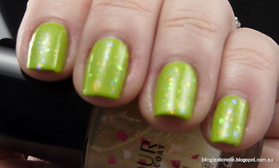 Australis Limited Edition #2 with Speck-tacular topcoat