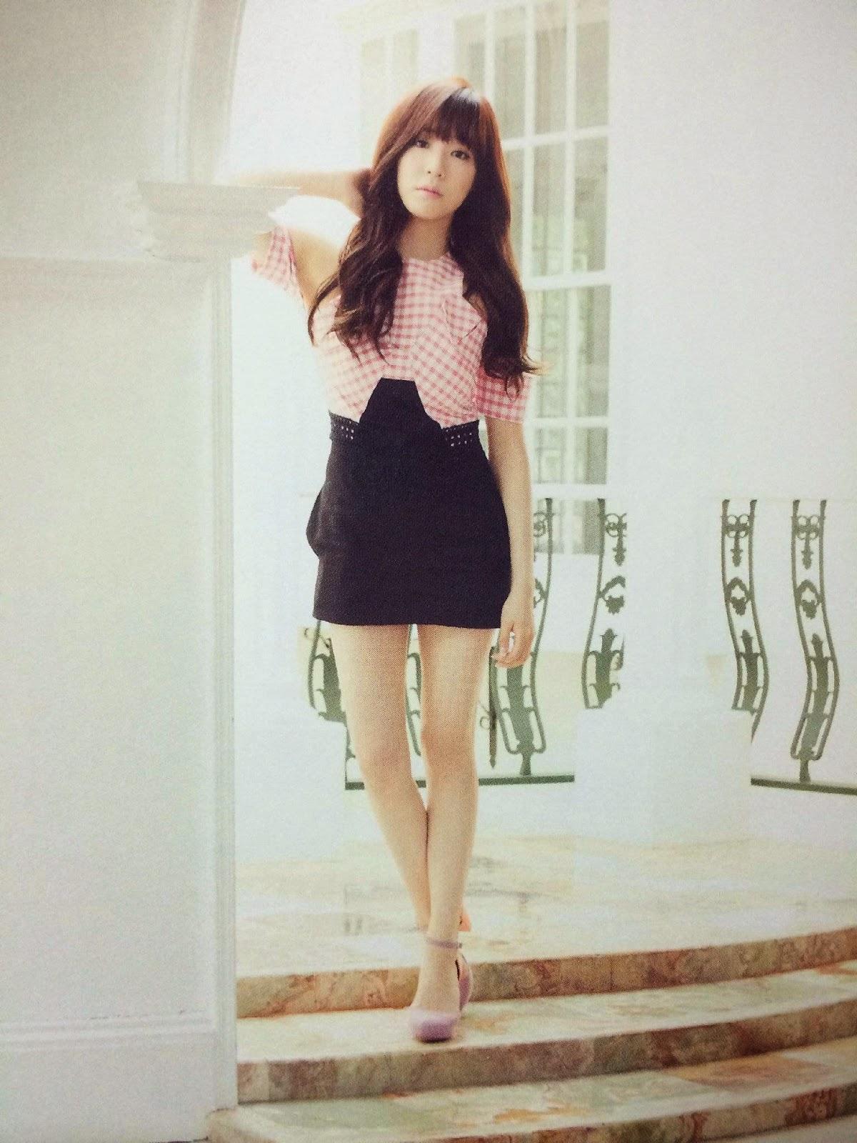 SNSD Tiffany (티파니; ティファニー) Girls Generation The Best Scan Photos 6