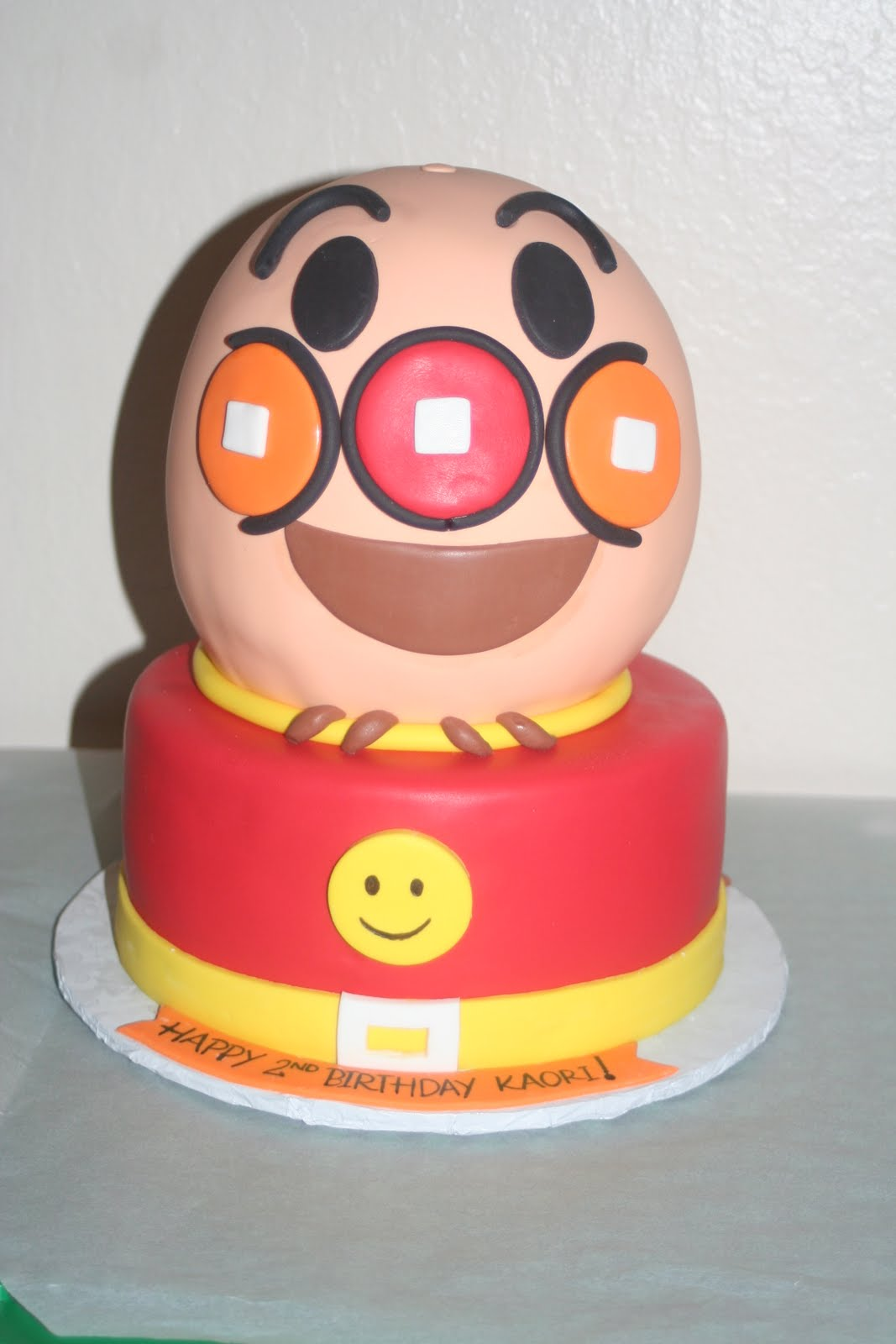 Tara 39 s piece of cake for Anpanman cake decoration