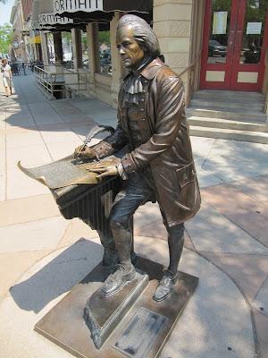 Thomas Jefferson statue, estatua de Thomas Jefferson