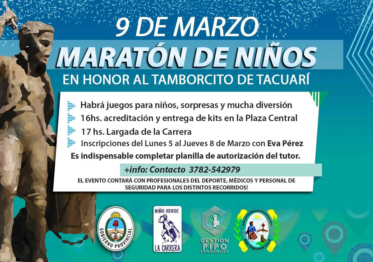 CONCEPCIÓN DEL YAGUARETÉ CORÁ: Vuelve a homenajear al Niño Héroe