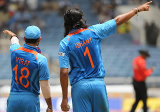 Virat-Kohli-Ishant-Sharma-India-vs-Srilanka-Tri-Series-2013