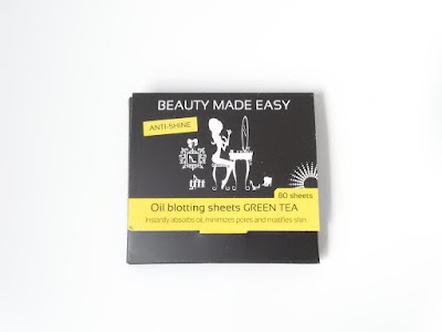 Beauty-Made-Easy Oil blotting sheets Green Tea