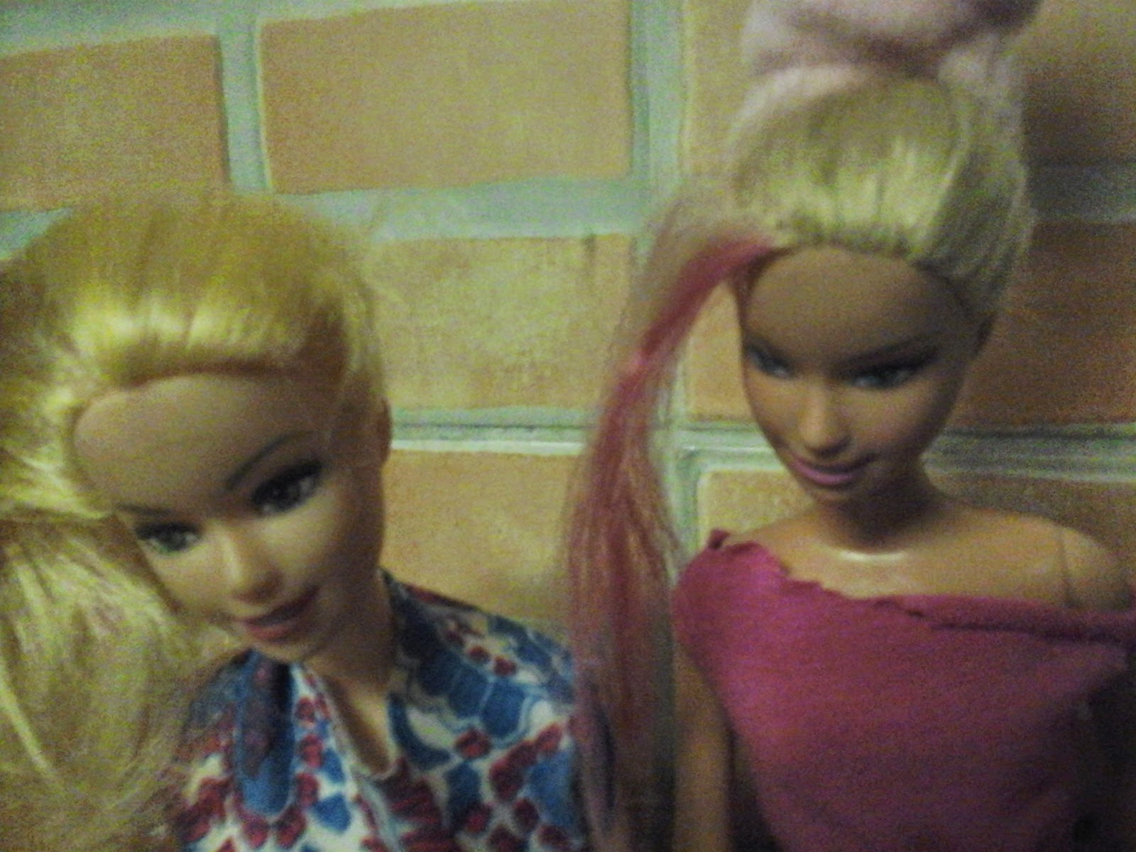barbies de mechas