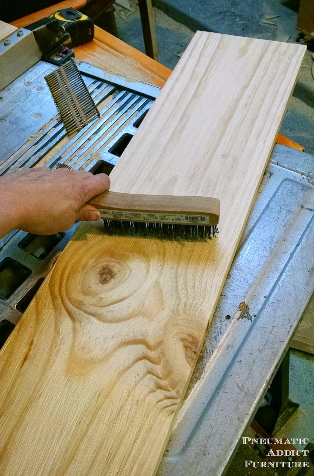 Pneumatic Addict : How to Get a Textured, Raised Grain on Wood Raising Grain