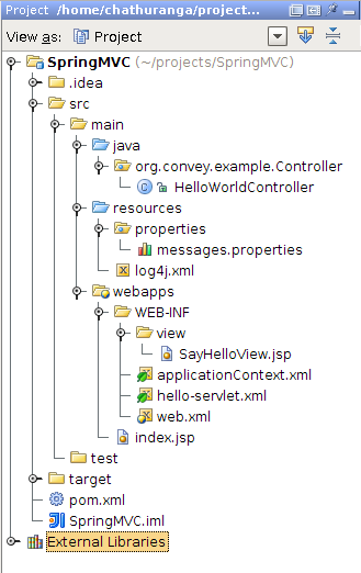 Being Compiled Spring Mvc Annotation Based Helloworld Example