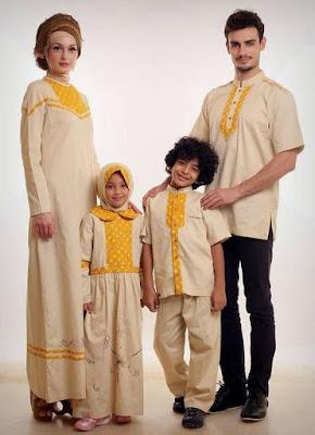 Tren Desain Baju Sarimbit Keluarga Untuk Lebaran