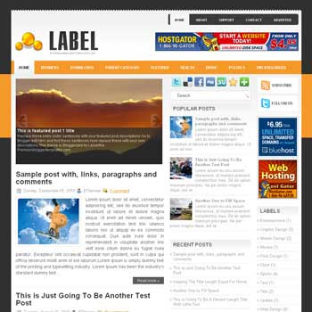 Label blog template. template image slider blog. magazine blogger template style. wordpress theme to blogger. template blog 3 column