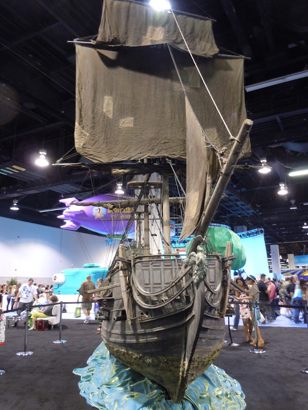 Black Pearl pirate galleon miniature