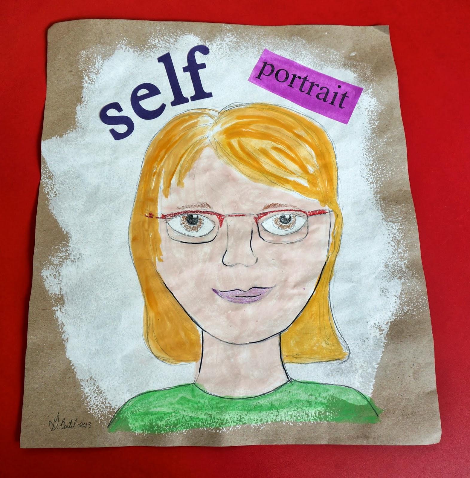 that artist woman self portraits