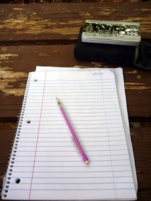Notepad in Grand Canyon