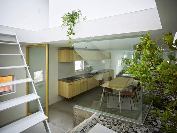 contoh desain taman dalam rumah 2015