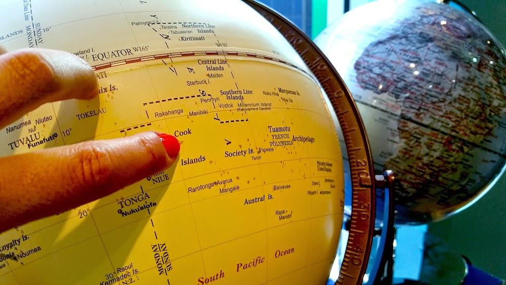 Dove sono le Isole Cook? Nel bel mezzo dell'Oceano Pacifico!