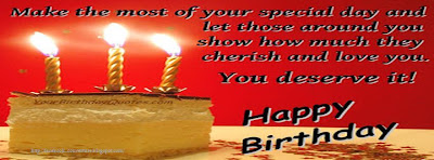 Couverture facebook originale joyeux anniversaire