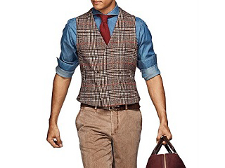 how to wear a waistcoat