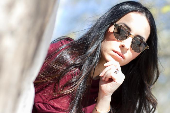Blogger de moda valenciana con joyas de Tous