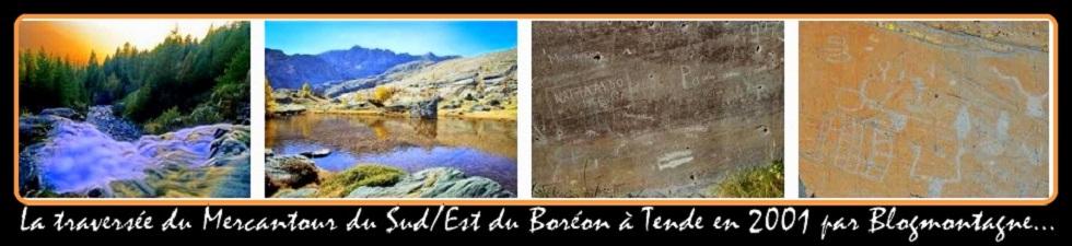 ➽ La traversée du P.N. du Mercantour S/E, trek réalisé en 2001 par Blogmontagne ~