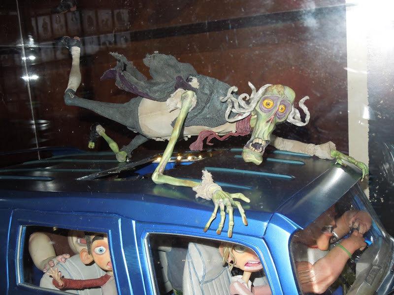 ParaNorman stop-motion animation zombie