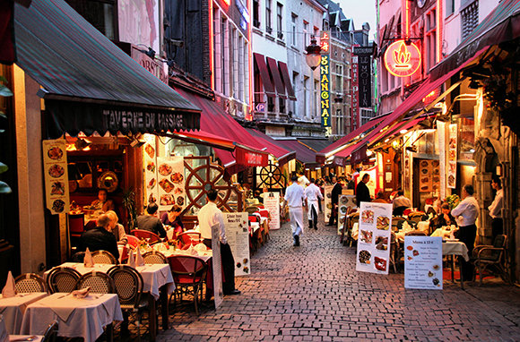 Brussels cheap vacation places