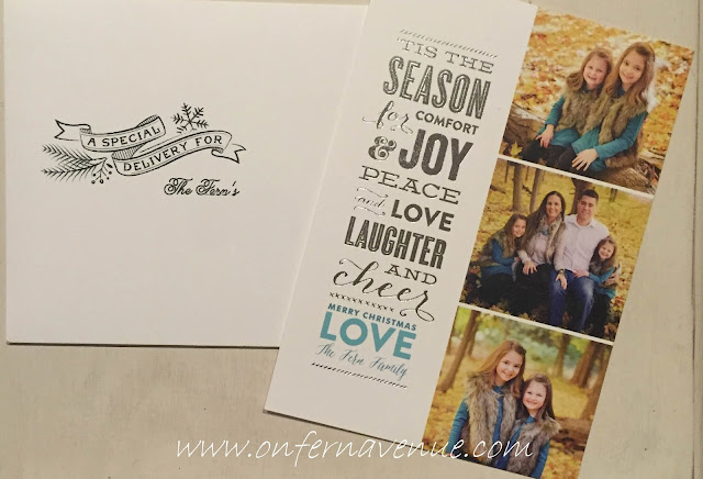 On_Fern_Avenue_family_holiday_cards