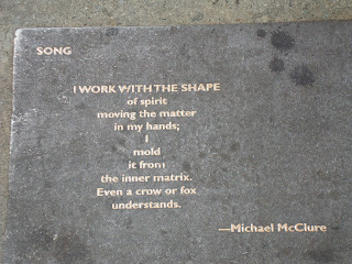 Sidewalk Poetry in Berkeley  (c) 2012 by Maja Trochimczyk