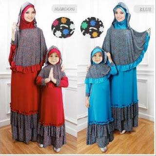 Baju Muslim Couple Ibu Dan Anak Perempuan