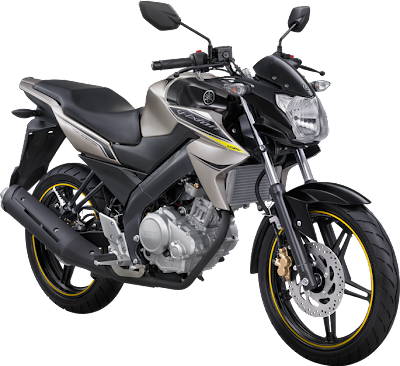 New Vixion Lightning 2013 Fuel Injection Radiance Titanium Gold