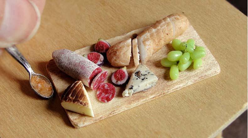 Estas deliciosas comidas son en realidad diminutas esculturas de arcilla
