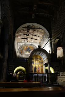San Miniato Florence Italy Gregorian Chant altar