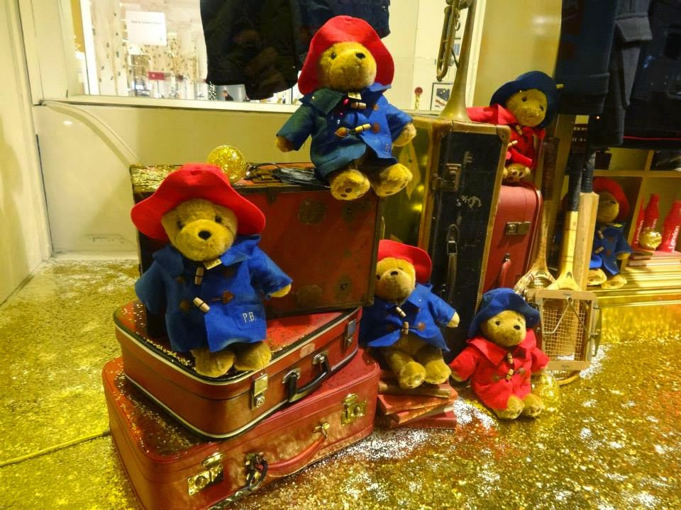 Selfridges Paddington Bear Christmas Shop Window 2014