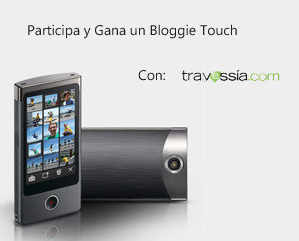 premio videocamara Sony Bloggie Touch promocion travessia Mexico 2011