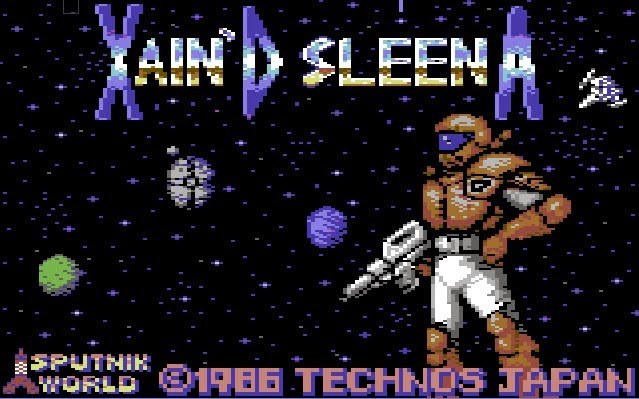 Xain'D Sleena C64