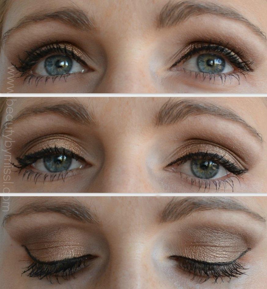 neutral eye makeup look, simple eye makeup,