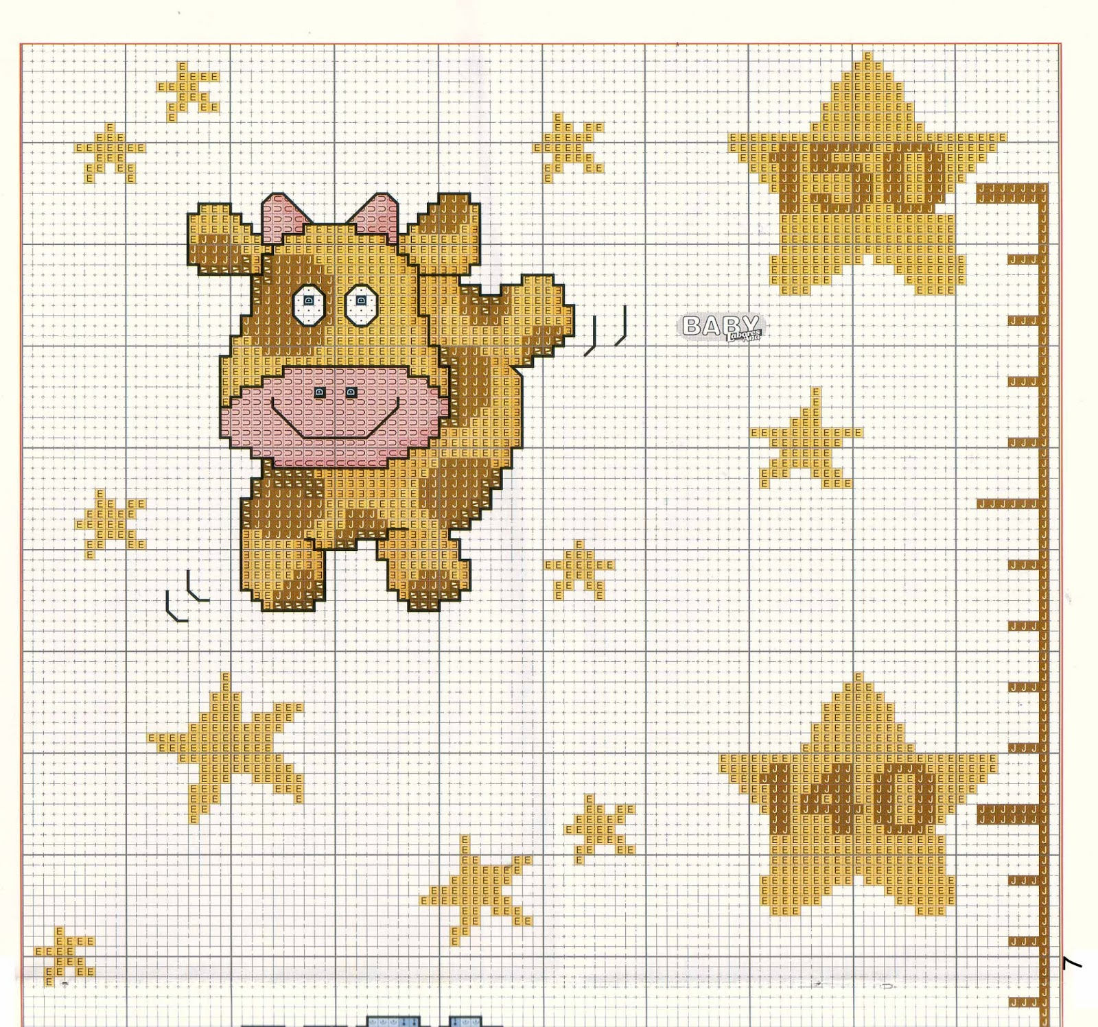 Звезды схемы вышивки 8