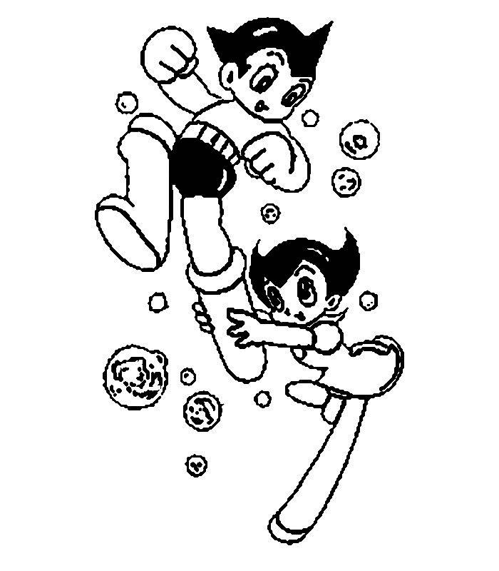 astro boy coloring pages - photo#24