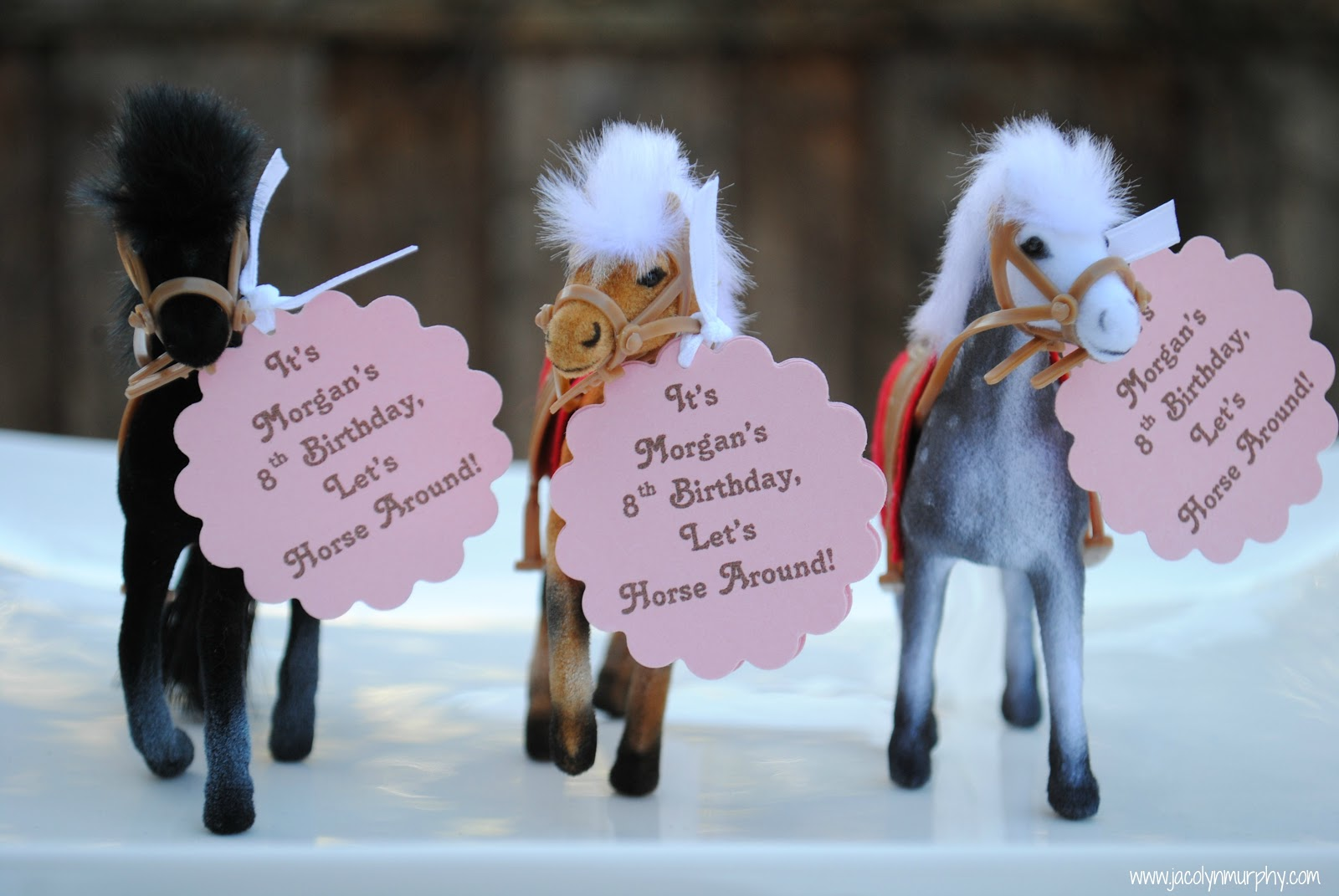 Jac o lyn Murphy Giddy Up GalsHorseback Riding Party – Horse Party Invitations