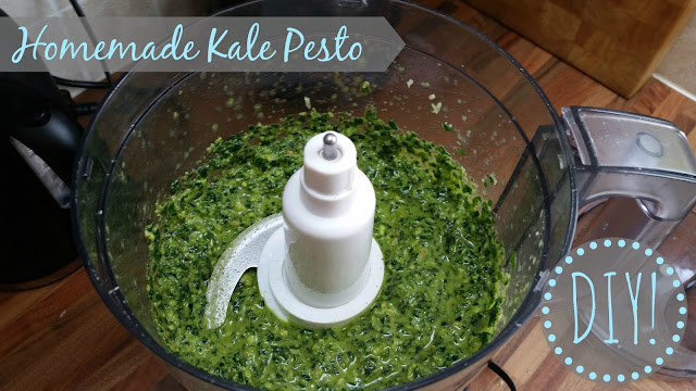 my general life diy recipe homemade kale pesto healthy vegetarian
