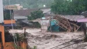 Banjir Bandang Terjang Empat Desa 1 Kelurahan di Sukabumi