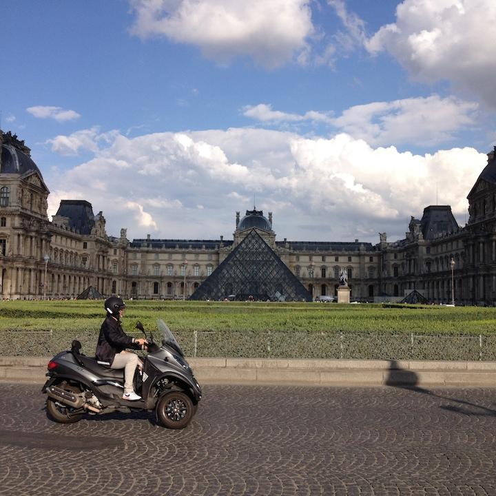 Quaintrelle Louvre Paris France