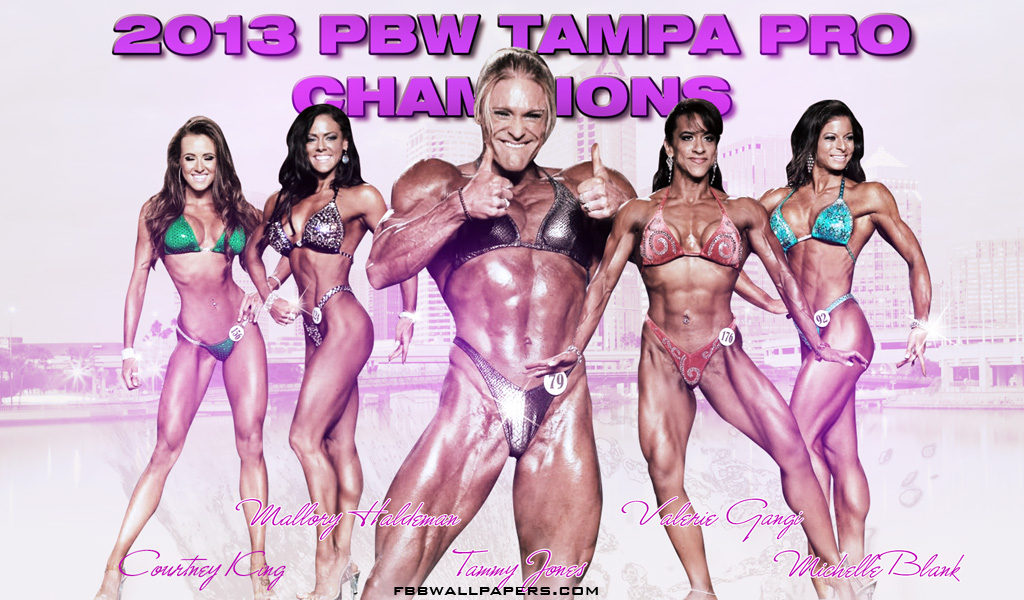 2013 PBW Tampa Pro Women Champions Wallpaper