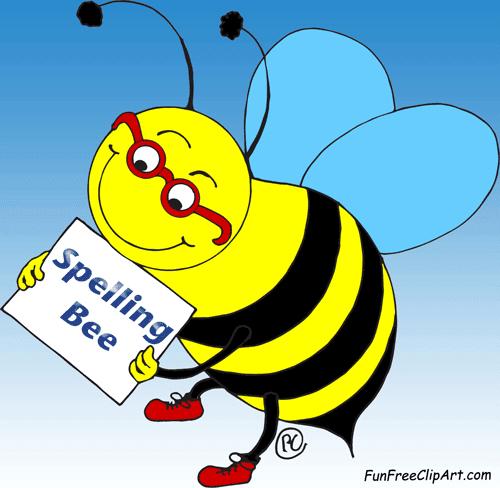 spelling bee fun free clipart funfreeclipart com rh funfreeclipart blogspot com Spelling Bee Clip Art for Teachers Spelling Words Clip Art