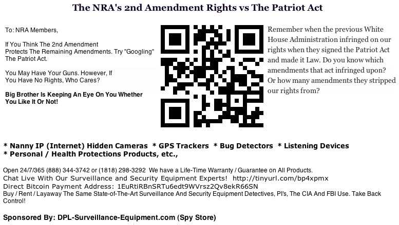 patriot act 6th amendment Opinion statement the patriot act  and discrimination and held without a trial (7th amendment)prevented from access to a lawyer to defend them (6th amendment).