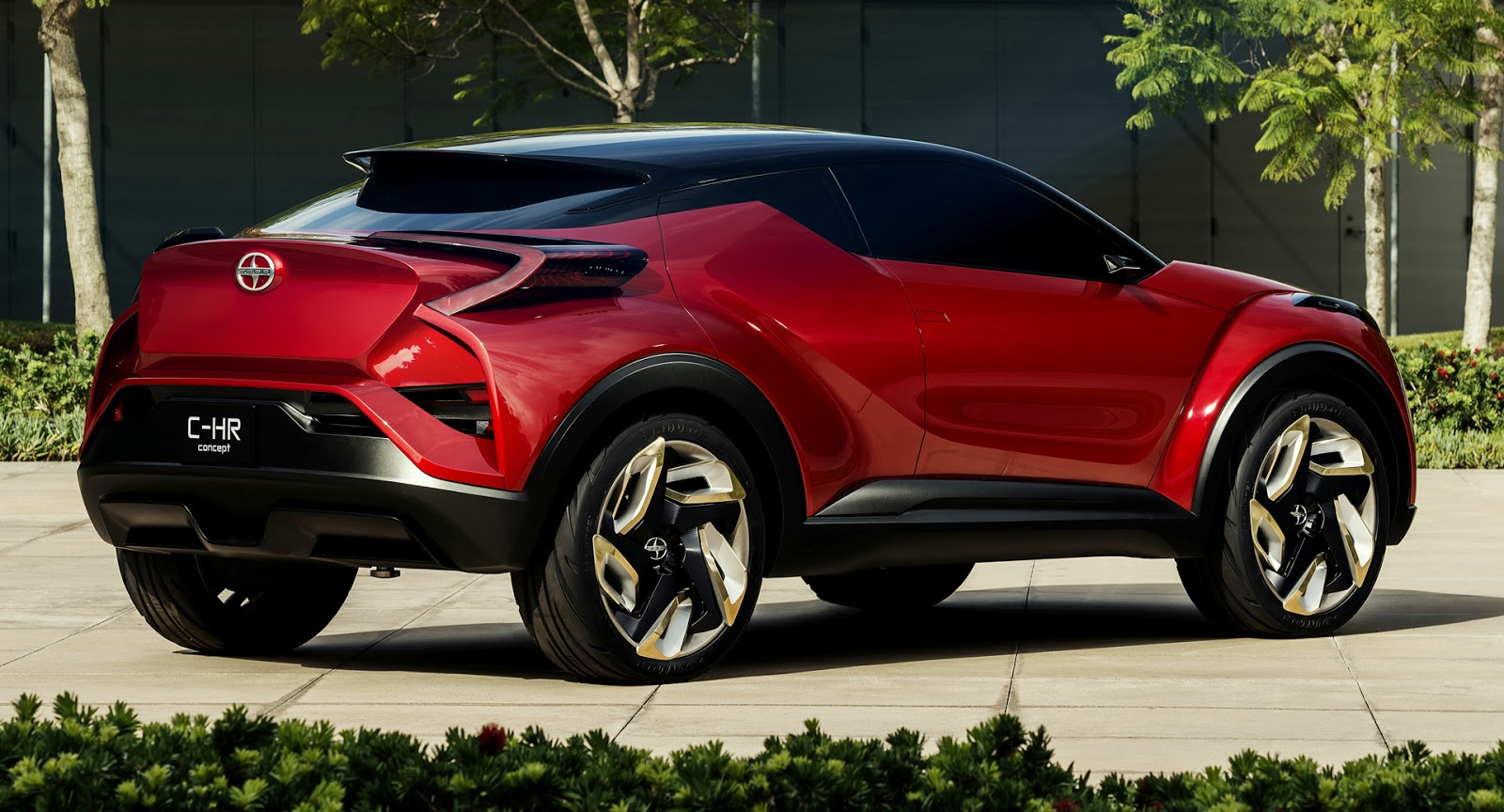 Scion c hr sport crossover concept debuts at the la auto show ahead of production w video