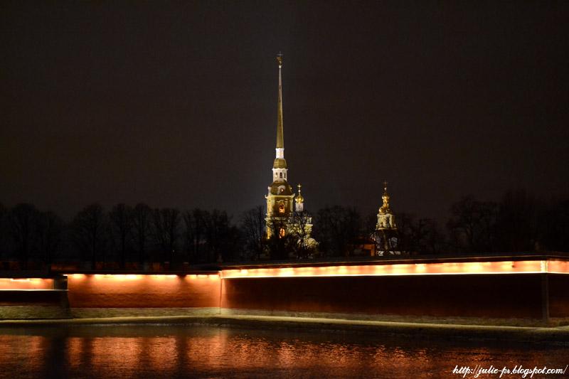 Санкт-Петербург, Нева, Петропавловская крепость