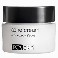 PCA Acne Cream has Benzoyl Peroxide for treatment