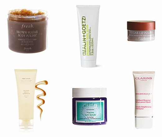best face and body scrubs