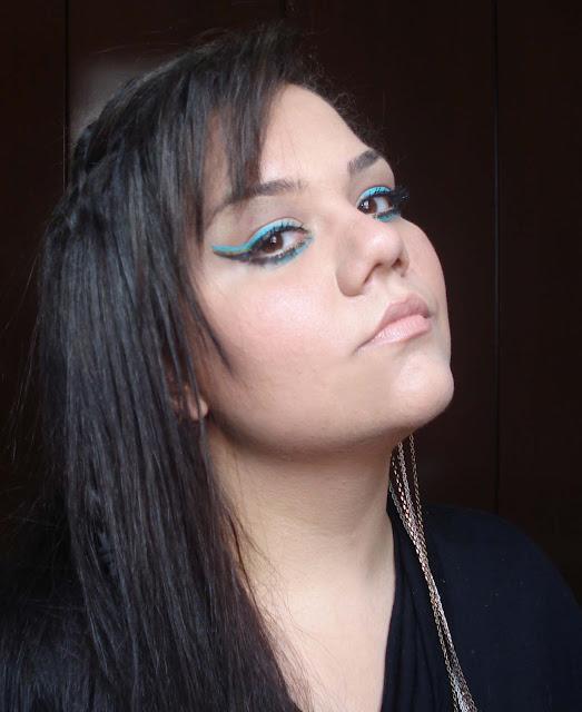 Delineado Triplo, delineador olhos na maquiagem